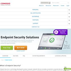 How does Endpoint Protection work?