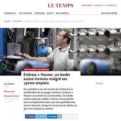 Suisse Endress+ Hauser