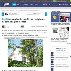 Top 10 des endroits insolites et originaux où pique niquer à Paris