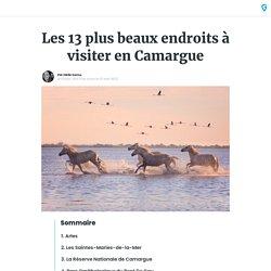 Les 13 plus beaux endroits à visiter en Camargue