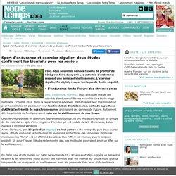 Sport d'endurance et exercice régulier: les bienfaits pour les seniors - 15/10/16