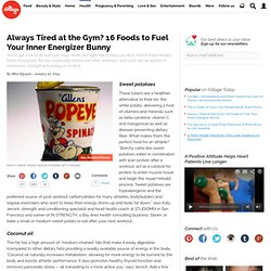 Healthy Foods for Endurance, Strength, and Energy