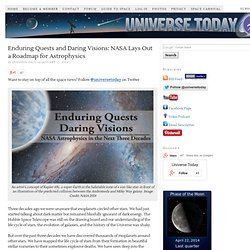 Enduring Quests and Daring Visions: NASA Lays Out a Roadmap for Astrophysics