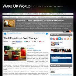 The 6 Enemies of Food Storage | Wake Up World - Aurora
