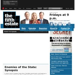 Enemies of the State - the fifth estate
