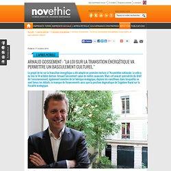 """Arnaud Gossement : """"La loi sur la transition énergétique va permettre un basculement culturel."""""""