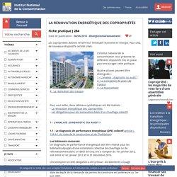 La rénovation énergétique des copropriétés - 08/06/16