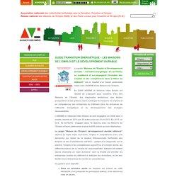 Guide Transition énergétique – Les Maisons de l'Emploi et le Développement Durable