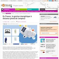 En France, la gestion énergétique à distance prend de l'ampleur