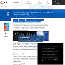 Innovation énergétique : découvrez le Li-Fi