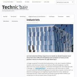 L'efficacité énergétique unit trois industriels - 10/10/16