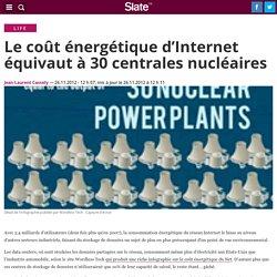 Le coût énergétique d'Internet