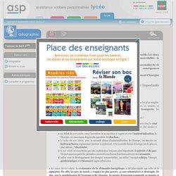 L'enjeu énergétique - Réviser le cours - Géographie - Seconde - Assistance scolaire personnalisée et gratuite - ASP