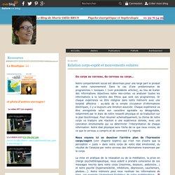 Relation corps-esprit et mouvements oulaires - Psycho-énergétique et sophrologie