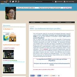 IPMO : Les fondements théoriques possibles... - Psycho-énergétique et sophrologie