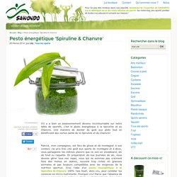 Pesto énergétique Spiruline et Chanvre