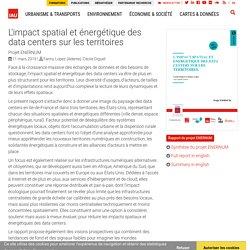 L'impact spatial et énergétique des data centers sur les territoires
