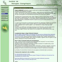 Articles ITE - Institut de Therapies Energetiques - Information sur les Techniques Energetiques