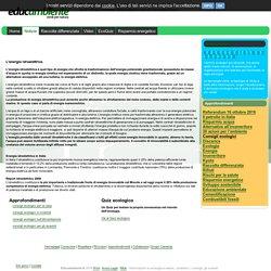Energia idroelettrica in Italia by educambiente