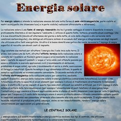 Energia solare semplificato