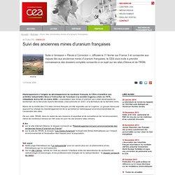 CEA 12/02/09 Suivi des anciennes mines d'uranium françaises