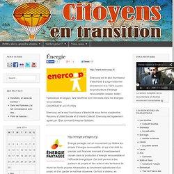 Énergie « Citoyens en transition