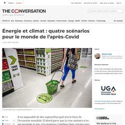 Énergie et climat: quatre scénarios pourlemonde del'après-Covid