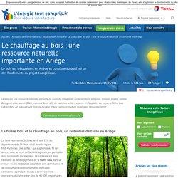 Le bois une énergie durable et peu couteuse en Ariège 19/01/2015
