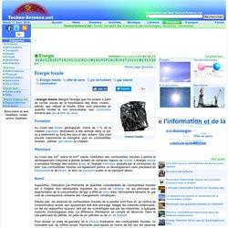 Énergie fossile - Définition - Encyclopédie scientifique en lign