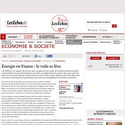 Énergie en France : le voile se lève