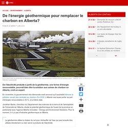 De l'énergie géothermique pour remplacer le charbon en Alberta?