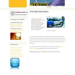Energie hydrogène