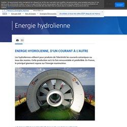 Energie hydrolienne : parc de Paimpol-Bréhat