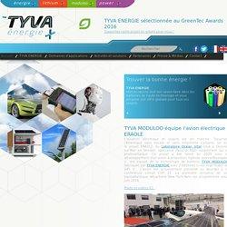 TYVA ENERGIE - TYVA MODULOO équipe l'avion électrique ERAOLE