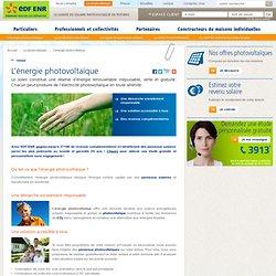 Énergie photovoltaïque et énergie solaire