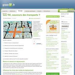 Transports › Energie › Les TIC, sauveurs des transports ?
