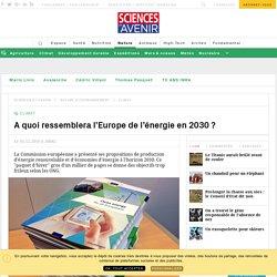 """L'UE publie son """"paquet énergie"""" pour l'horizon 2030 - Sciencesetavenir.fr"""