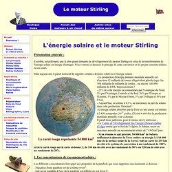 L'énergie solaire et le moteur Stirling