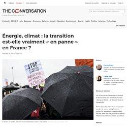 Énergie, climat: latransition est-elle vraiment «enpanne» enFrance?