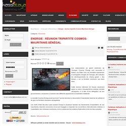 Energie : réunion tripartite Cosmos-Mauritanie-Sénégal
