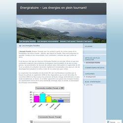 Energiratoire - Les énergies en plein tournant!