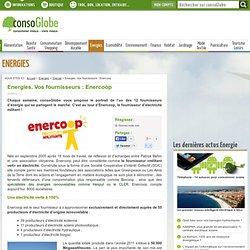 Energies. Vos fournisseurs : Enercoop