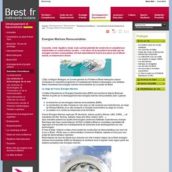 Brest.fr - Energies Marines Renouvelables