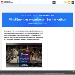 Vinci Energies organise son 1er hackathon