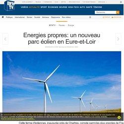 Energies propres: un nouveau parc éolien en Eure-et-Loir