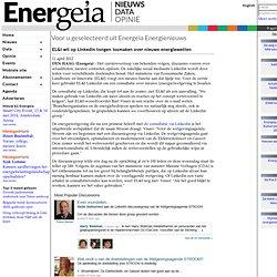 EL&I wil op Linkedin tongen losmaken over nieuwe energiewetten