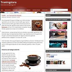 Kaffe ökar energiförbrukning och förbättrar hälsan