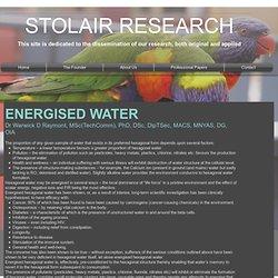 Energised Water