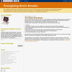 The Waiter Brain Break