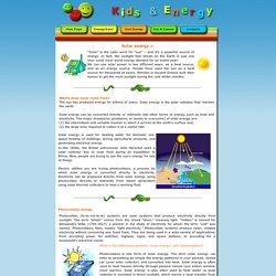 Energy and kids